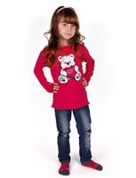 """Джемпер для девочек """"Мишка Тедди"""" dg-1407"""